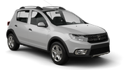 SIXT Car rental Podgorica Airport Economy car - Dacia Sandero Stepway