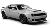 DOLLAR Car rental Al Maktoum - Intl Airport Exotic car - Dodge Challenger