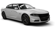 DOLLAR Car rental Al Maktoum - Intl Airport Exotic car - Dodge Charger