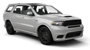 ENTERPRISE Car rental Sacramento Int'l Airport Van car - Dodge Durango