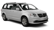 HERTZ Car rental Hamilton Square Van car - Dodge Grand Caravan