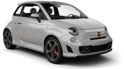 EUROPCAR Car rental Barcelona - Airport Luxury car - Fiat 500 Abarth