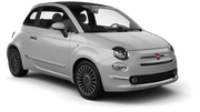NOMADCAR Car rental Barcelona - City Convertible car - Fiat 500 Convertible