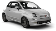 KEDDY BY EUROPCAR Car rental Peterborough Mini car - Fiat 500