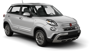 KEDDY BY EUROPCAR Car rental Lincoln Compact car - Fiat 500L