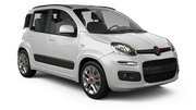 BUDGET Car rental Cirkewwa - Downtown Economy car - Fiat Panda