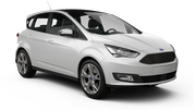 THRIFTY Car rental Luxembourg Railway Station Van car - Ford C-Max