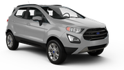 ENTERPRISE Car rental Sacramento Int'l Airport Suv car - Ford Ecosport
