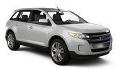 BUDGET Car rental Sacramento Int'l Airport Suv car - Ford Edge