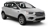 AVIS Car rental Los Angeles - Wilshire Boulevard Suv car - Ford Escape