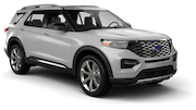 BUDGET Car rental Arlington Suv car - Ford Explorer