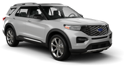 BUDGET Car rental Sacramento Int'l Airport Suv car - Ford Explorer