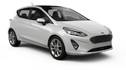 ALAMO Car rental Dubai - Jebel Ali Free Zone Economy car - Ford Fiesta