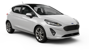 DOLLAR Car rental Huntington Economy car - Ford Fiesta