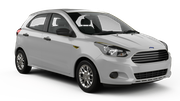 THRIFTY Car rental Dubai - Le Meridien Mini car - Ford Figo