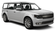 ALAMO Car rental Arlington Suv car - Ford Flex
