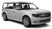 ALAMO Car rental Orange County - John Wayne Apt Suv car - Ford Flex