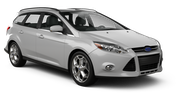 BUDGET Car rental Lincoln Standard car - Ford Focus Estate