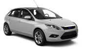 BUDGET Car rental Los Angeles - Airport Compact car - Ford Focus