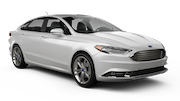 BUDGET Car rental Los Angeles - Wilshire Boulevard Fullsize car - Ford Fusion