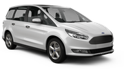DOLLAR Car rental Huddersfield Van car - Ford Galaxy