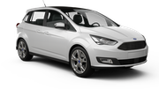 ALAMO Car rental Paris - Porte Maillot Van car - Ford Grand C-Max