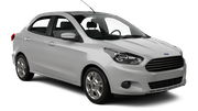 HERTZ DOMESTIC Car rental Duque De Caxias - Central Standard car - Ford Ka Sedan