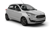 HERTZ Car rental Paris - Porte Maillot Mini car - Ford Ka