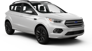 SIXT Car rental Paris - Porte Maillot Suv car - Ford Kuga