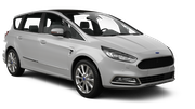 BUDGET Car rental Paris - Porte Maillot Van car - Ford S-Max
