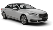 THRIFTY Car rental Pittsburgh International Airport Fullsize car - Ford Taurus