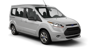DOLLAR Car rental Plymouth Van car - Ford Tourneo