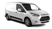 EUROPCAR VANS AND TRUCKS Car rental Lincoln Van car - Ford Transit SWB Van