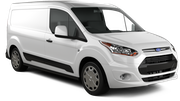 BUDGET Car rental Fullerton - La Mancha Shopping Center Van car - Ford Transit
