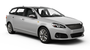 AVIS Car rental Luton Fullsize car - Mercedes C Class