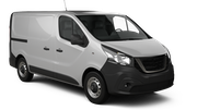 BUDGET VANS Car rental Sheffield Van car - Volkswagen Transporter Cargo Van
