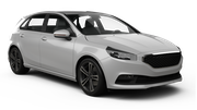 HERTZ Car rental Tivat Airport Standard car - Opel Astra Sedan