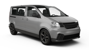 HERTZ Car rental Denver - Airport Van car - Ford Club Wagon