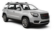 BUDGET Car rental Montreal - Airport Suv car - GMC Acadia