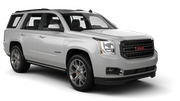 DOLLAR Car rental Pittsburgh International Airport Suv car - GMC Yukon