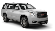 SIXT Car rental Beirut Airport Suv car - GMC Yukon
