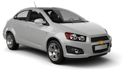 BUDGET Car rental Newcastle Downtown Economy car - Holden Spark