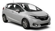 HERTZ Car rental Nan Nakhon Airport Economy car - Honda City