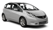 HERTZ Car rental Beer Sheva Compact car - Honda Jazz