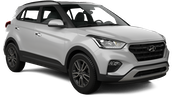 THRIFTY Car rental Panama City - Hotel La Cresta Inn Economy car - Hyundai Creta