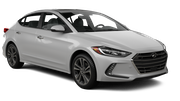 DOLLAR Car rental Fullerton - La Mancha Shopping Center Standard car - Hyundai Elantra