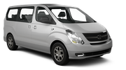 UNITED INTERNATIONAL Car rental Odessa Airport Van car - Hyundai H1