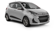 COURTESY Car rental Barbados - Island Delivery Mini car - Hyundai i10