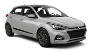 BUDGET Car rental Beer Sheva Compact car - Hyundai i20