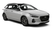 DRIFTER Car rental Cirkewwa - Downtown Standard car - Hyundai i30 Estate
